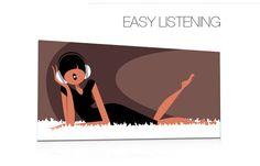 tableau, tableaux, design, déco, pop, moderne, contemporain pour la décoration, Qora Shai Easy Listening