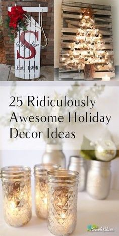 Christmas, Christmas Decor, Christmas DIY, Holiday Decor, DIY Holiday, Popular Pin, Holiday Home Decor.