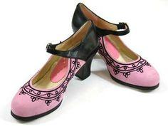 Professional Flamenco Shoes, Goyesco Shoes