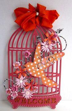 Birdcage Decor by Gini C.