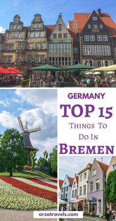 Travel tips from a local. What to see and do in Bremen, Germany I Best places to visit in Bremen I 2 days itinerary Bremen I Best cities in Germany I Where to go in Bremen