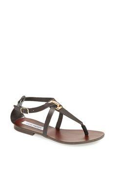 Steve Madden 'Kween' #Sandal. Gold and black.