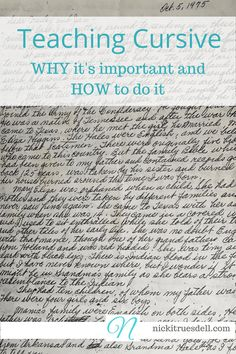 Why and How to Teach Cursive Writing – How and Why to Teach Cursive Handwriting P Teaching Cursive Writing, Learning Cursive, Writing Test, Learning To Write, Writing Skills, Cursive Writing Worksheets, Hand Writing, Writing Lessons, Handwriting Classes