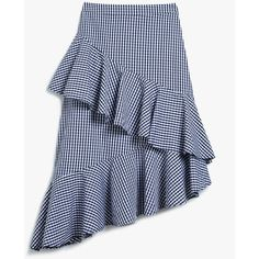 Jupe à volants, Farrow chez Need Supply Co, environ 106 €. Frilly Skirt, Fancy Skirts, Gingham Skirt, Cute Skirts, Ruffle Skirt, Blue Gingham, Modest Fashion, Fashion Outfits, Layered Skirt