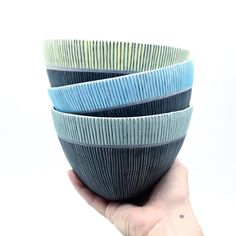 Soup bowls in the shop! Love the volume in this form.