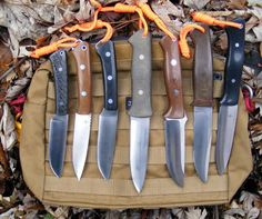 Bushcraft style knives have got to be my fave.