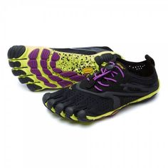 Vibram FiveFingers V-Run – Calzado mujer – negro Vibram Barefoot Running, Barefoot Shoes, Vibram Fivefingers, E 38, Road Running, Running Workouts, Workout Gear, Minimalist Shoes, Black Running Shoes