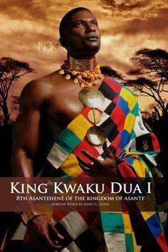 Le roi Kouakou Doua Ier (19ème siècle), Ghana. © James C. Lewis