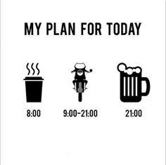 """Plan del Dia"" ✌️ #BikerSaturday #Sabadaba #SabaditoAlegre #DisturbedCulture #DisturbedTendencies"