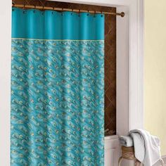King Peacock Shower Curtain $30.00