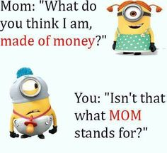 New funny love memes hilarious minions quotes ideas Funny Minion Pictures, Funny Minion Memes, Crazy Funny Memes, Minions Quotes, Really Funny Memes, Funny Love, Memes Humor, Funny Facts, Haha Funny