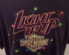 Harley Davidson Mens Black Three Rivers Pittsburg PA Shirt Sz 2XL GUC #HarleyDavidson #ShirtsTops