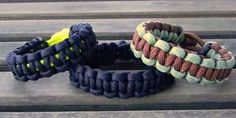 make your own parachute cord bracelet
