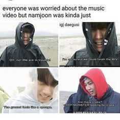 Namjoon and the crab's love story continues