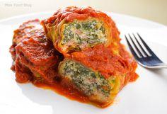 Vegetarian cabbage rolls