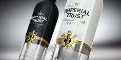 Imperial Trust Bottle shot for STUDIOIN on Behance
