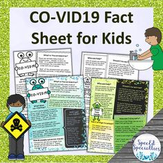 Distance Learning Coronavirus Information Fact Sheet Poster for Kids - *SpecEd Specialties - Informational Fact Sheet & Poster for Kids Touch And Feel Book, Self Advocacy, School Closures, 19 Kids, Special Education Classroom, Research Projects, Life Cycles, Teaching Resources, Facts