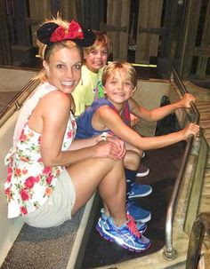 Britney Spears and sons Sean Federline and Jayden Federline