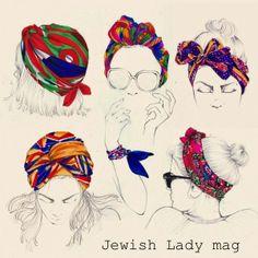 foulard-en-tête