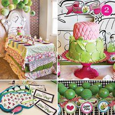 Princess & the Pea Birthday party
