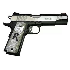 """Remington 1911 the grips would be really sweet w/out the """"R""""  please somebody"""