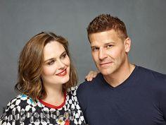 Comic-Con 2016 Star Portraits: Day 2   Emily Deschanel and David Boreanaz, 'Bones'   EW.com