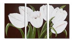 White Tulips, Plants, Plant, Planting, Planets