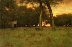 Sunset at Montclair George Inness - 1892