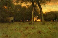 Sunset at Montclair George Inness - 1892