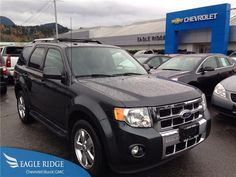 2009 Ford Escape Limited 4WD V6 Auto w/ Sunroof for sale at Eagle Ridge GM in Coquitlam near Vancouver!  http://eagleridgegm.com http://facebook.com/eagleridgegm http://twitter.com/eagleridgegm
