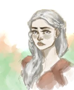 Game of Thrones: Daenerys Targaryen by drakonarinka