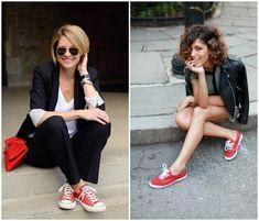 красные кеды с чем носить: 10 тыс изображений найдено в Яндекс.Картинках