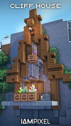 Minecraft Cottage, Minecraft Castle, Cute Minecraft Houses, Minecraft Room, Minecraft Plans, Minecraft Survival, Amazing Minecraft, Minecraft Blueprints, Minecraft Crafts