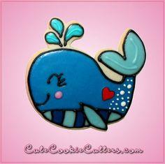 Pink Wanda Whale Cookie Cutter