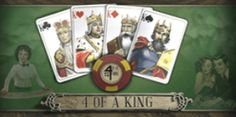 4 of a King - Online Casino Game Plinko Game, Choice Of Games, Casino Promotion, Video Poker, Online Casino Games, King Online, Game 4, Baseball Cards, Slot