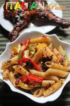 YUMMY TUMMY: Italian Penne Pasta Recipe - Italian Pasta Recipe - Penne Pasta Recipe