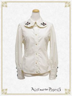 Alice and the Pirates Clara Ribbon Blouse