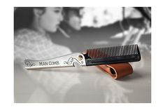 Home of the Man Comb Modern Man, The Man, Accessories, Collection, Design, Design Comics