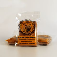 Original Appenzeller Bärli-Biber - Der Kleinste für zwischendurch Mit reinem Honigteig und Mandelfüllung