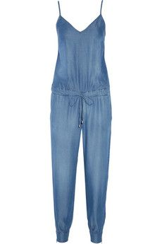 Washed-chambray jumpsuit by: Splendid