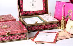 Sayak Trisha 02 Invitations Luxury Quality Beautiful Personalised Box Invitation – By Gold Leaf Design Studios – New Delhi - title Kraft Wedding Invitations, Box Invitations, Bachelorette Party Invitations, Rustic Invitations, Wedding Invitation Design, Bridal Shower Invitations, Invitation Cards, Indian Wedding Cards, Card Box Wedding