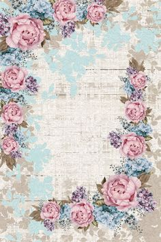 Bonitas imagenes vintage para decoupage y transfer Decoupage Vintage, Vintage Paper, Vintage Writing Paper, Flower Background Wallpaper, Background Vintage, Vintage Flower Backgrounds, Flower Vintage, Vintage Floral, Trendy Wallpaper