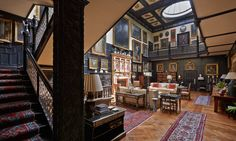 INTERIOR DESIGN ∙ COUNTRY HOUSES ∙ Madresfield Court - Todhunter EarleTodhunter Earle.