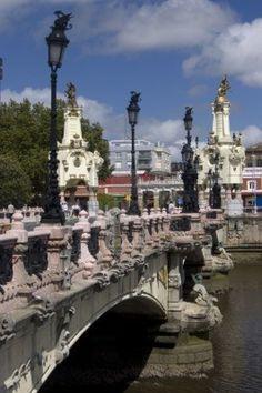 Puente María Cristina de San Sebastián, Guipúzcoa. España
