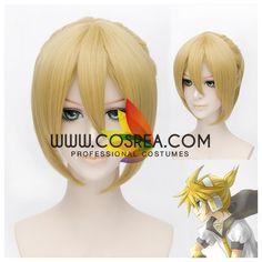 Vocaloid Len Straight Cosplay Wig