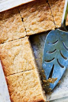 Lemon Mascarpone Blondies ~ The best blondie recipe ever. Truly! A classic blondie taken to perfection with tangy mascarpone cheese and lemon. ~ SimplyRecipes.com