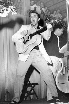 ELVIS PRESLEY POSTER - LIVE IN 1955 CONCERT - NEW 24X36