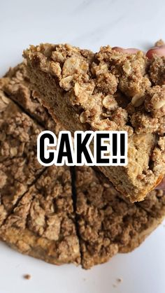 Healthy Apple Cake, Healthy Cake Recipes, Healthy Sugar, Healthy Desserts, Dessert Recipes, Breakfast Recipes, Healthy Food, Easy Gluten Free Desserts, Gluten Free Cookies