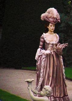 """Marisa Berenson in """"Barry Lyndon"""" (1975). Costume design by Ulla-Britt Söderlund and Milena Canonero."""