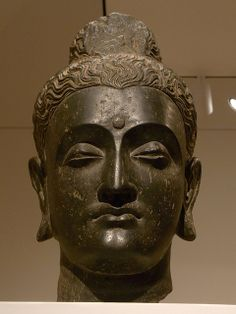 Head of Buddha - India 3rd Century - Dallas Museum of Art R0016466A.